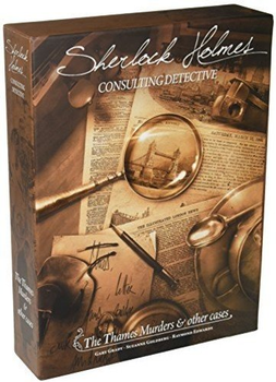 Sherlock Holmes Consulting Detective: The Thames Murders & Other Cases board game