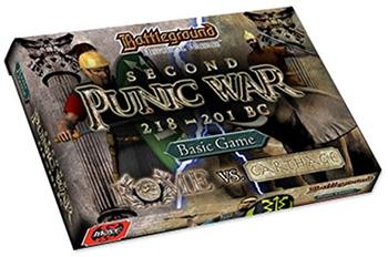 Battleground Historical Warfare: Second Punic War 218-201 BC board game
