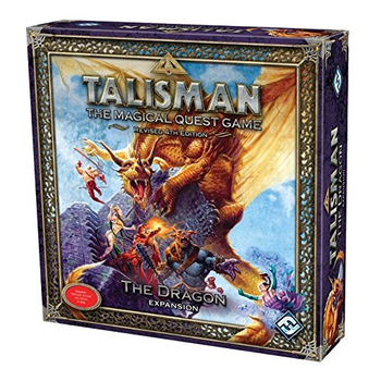 Talisman 4th Edition: The Dragon Expansion board game