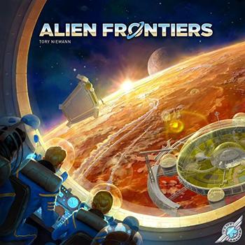 Alien Frontiers board game