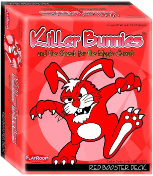 Killer Bunnies and the Quest for the Magic Carrot: RED Booster board game