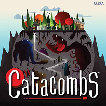 Catacombs (Third Edition) board game