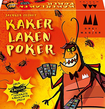Cockroach Poker board game