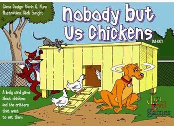 Nobody But Us Chickens Card Game board game