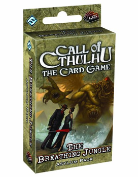 Call of Cthulhu: The Card Game - The Breathing Jungle Asylum Pack board game