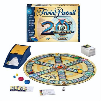 Trivial Pursuit 20th Anniversary board game