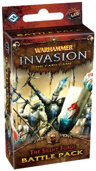Warhammer Invasion: The Card Game - The Silent Forge Battle Pack board game