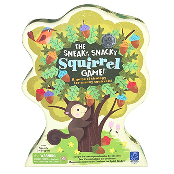 The Sneaky, Snacky Squirrel Game board game