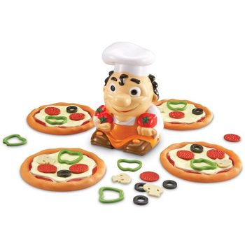 Pizza Mania Early Math Game board game