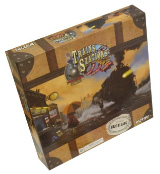 Trains and Stations board game