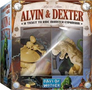 Ticket to Ride: Alvin & Dexter board game