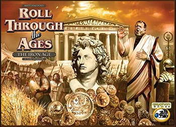 Roll Through the Ages: The Iron Age board game