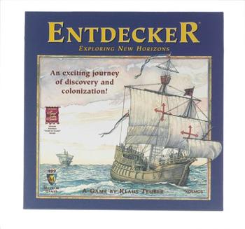 Entdecker: Exploring New Horizons board game