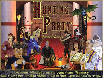 Hunting Party board game