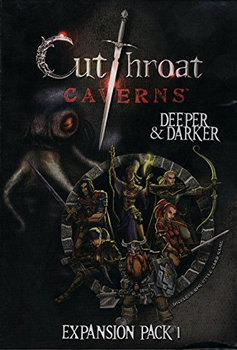 Cutthroat Caverns Deeper And Darker Expansion 1 board game