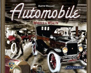 Automobile board game