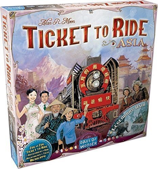 Ticket to Ride Map Collection: Volume 1 – Team Asia & Legendary Asia board game