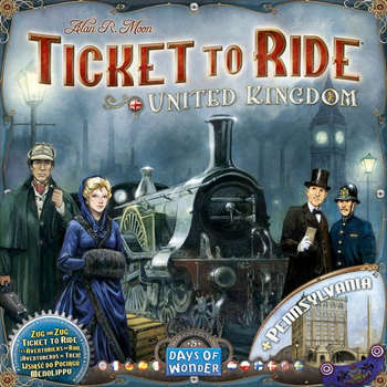 Ticket to Ride: Map Collection Volume 5 - United Kingdom board game