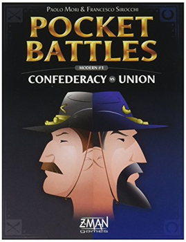 Pocket Battles 4 Confederacy vs. Union Game board game