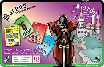 Barons MINT/New board game