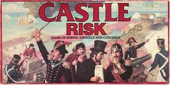 Castle Risk board game