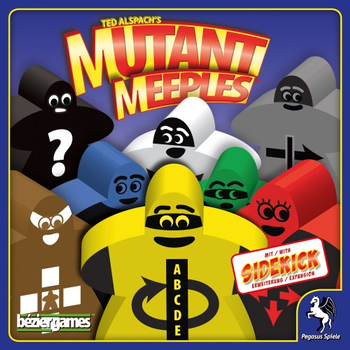 Mutant Meeples Board Game board game