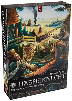 Haspelknecht: The Story of Early Coal Mining board game