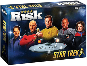 Risk: Star Trek 50th Anniversary Edition board game
