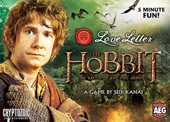 Love Letter: The Hobbit - The Battle of the Five Armies board game