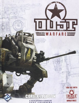 Dust Warfare: Core Rulebook board game