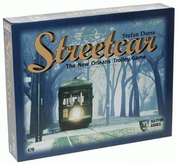 Street Car board game