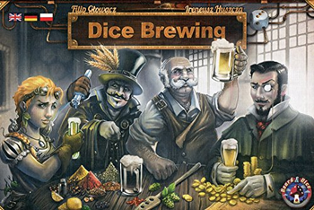 Dice Brewing board game