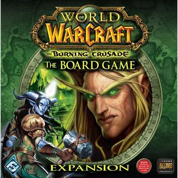 World of Warcraft: The Board Game - Burning Crusade Expansion board game