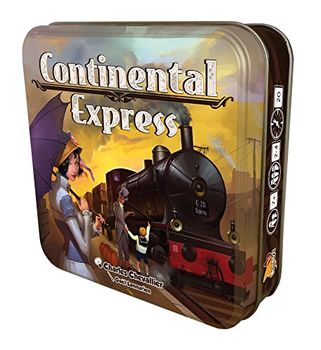 Continental Express board game