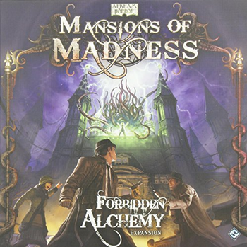 Mansions of Madness: Forbidden Alchemy Expansion board game