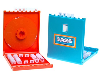 Hangman board game
