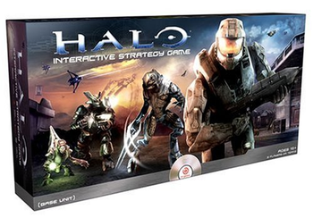 Genius Products Halo Interactive Strategy Game board game