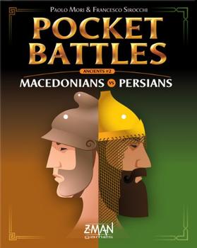 Pocket Battles: Macedonians vs Persians board game