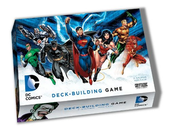 DC Comics Deck-Building Game board game