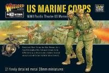 Bolt Action: US Marines Corps board game