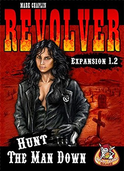 Revolver: Expansion 1.2- Hunt the Man Down board game