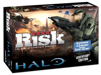 RISK: Halo Legendary Edition board game