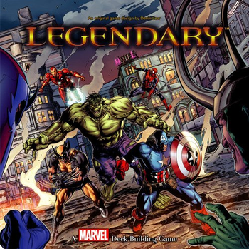 Legendary: A Marvel Deck Building Game board game
