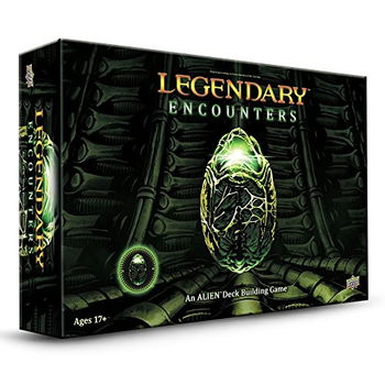 Legendary Encounters: An Alien Deck Building Game board game