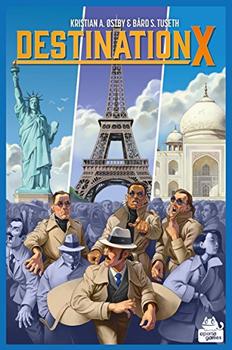 Destination X board game