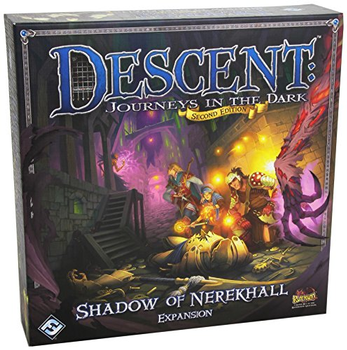 Descent: Journeys in the Dark (Second Edition) - Shadow of Nerekhall Expansion board game