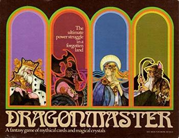 Dragonmaster board game