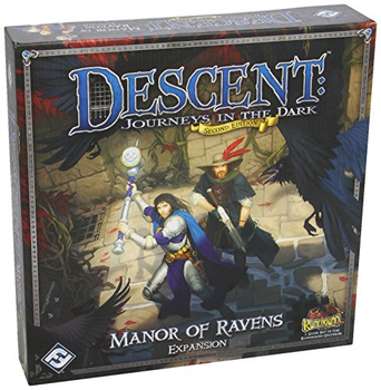 Descent: Journeys in the Dark 2nd Edition - Manor of Ravens Expansion board game
