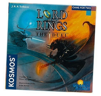 The Lord of the Rings: The Duel board game