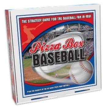 Reveal Entertainment Pizza Box Baseball Board Game board game